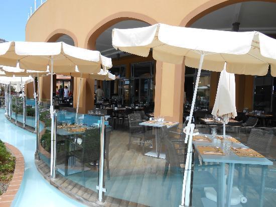 Pestana Porto Santo All Inclusive : restaurant exeterieur
