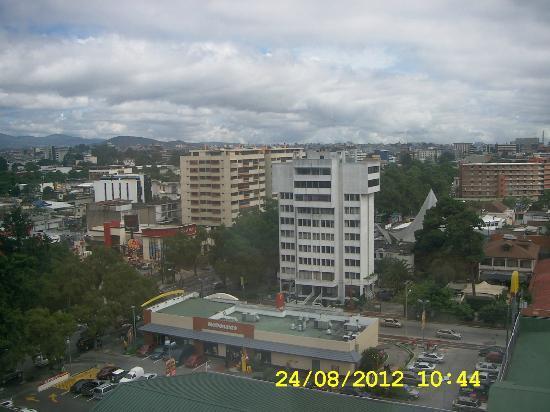 Barcelo Guatemala City : Vista matutina igualmente linda!