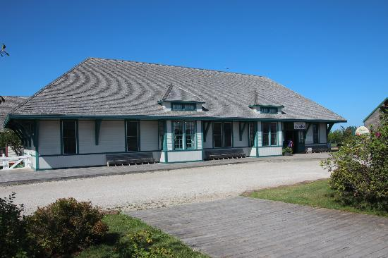 Avonlea Village: Avonlea Train Station ~ and Village Ticket Office