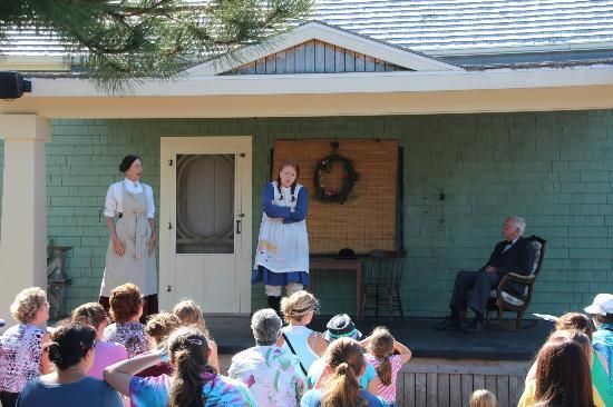 Avonlea Village: Acting out Anne's story