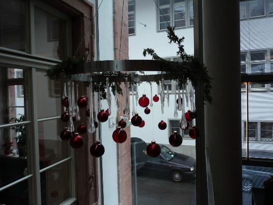 ArtHotel Heidelberg: christmas decor