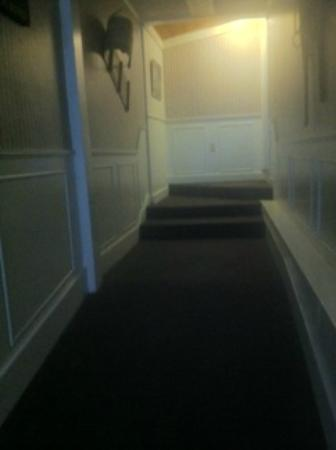 The Dana Place at Pinkham Notch: New carpet in some halls
