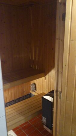 Hotel Aldoria: sauna dentro la stanza