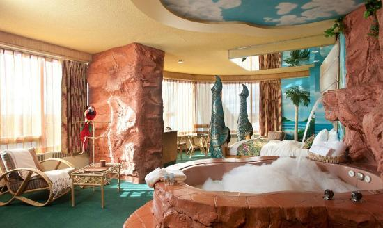 Fantasyland Hotel Resort Polynesian Luxury Theme Room