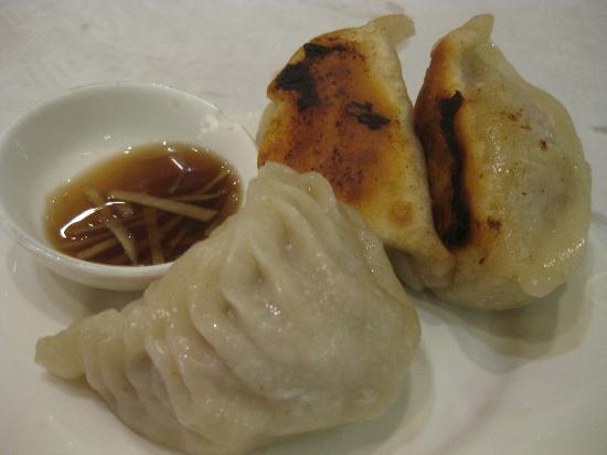 Glamorous  Chinese Restaurant: panfried pork dumplings