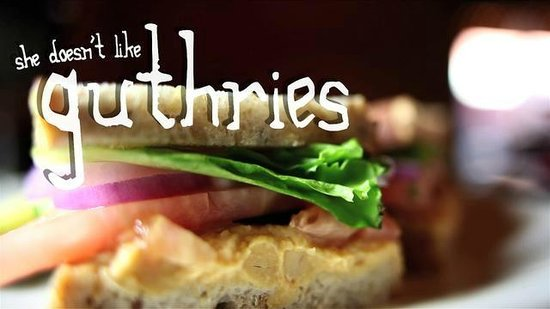 She Doesn't Like Guthries: logo