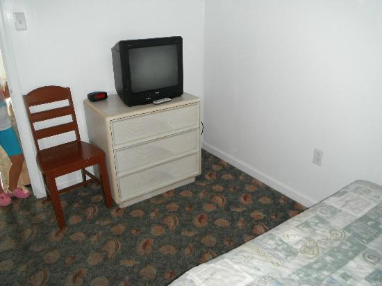 SeaGull Motel : Chambre fermée