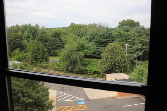 Hampton Inn Boston/Marlborough : the view