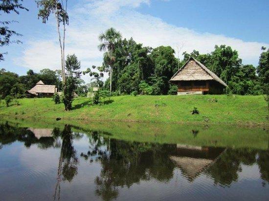 L'arrivée au Mapa Te Lodge
