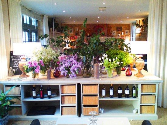 garden-party : Fraicheur pour les fleurs comme dans l'assiette