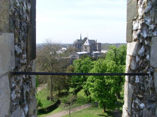 Amberley Castle: veiw from the keep
