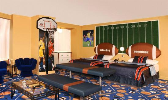 Fantasyland Hotel Resort Luxury Sports Themed Room