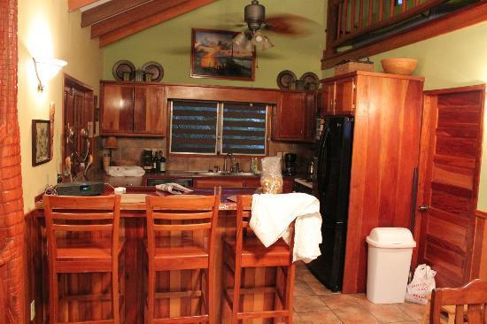 Captain Jak's Cabanas : Kitchen