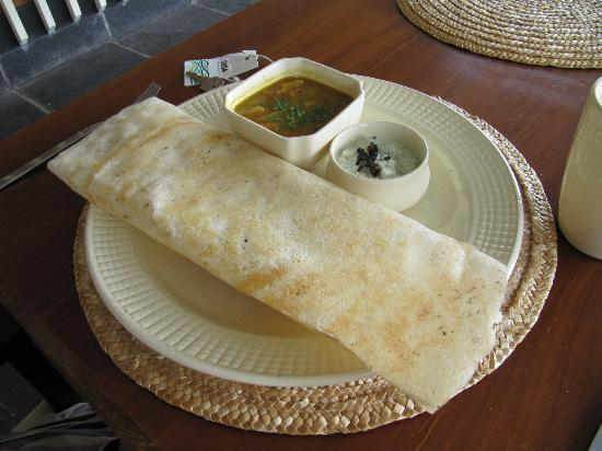 The Park on Vembanad Lake: Delicious Dosa for breakfast!