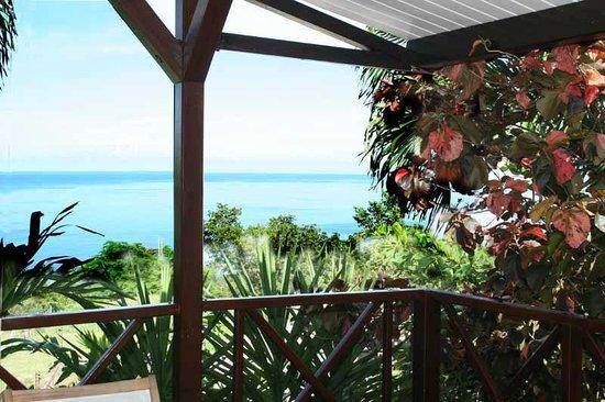 Domaine Karaibes: la vue de notre terrasse