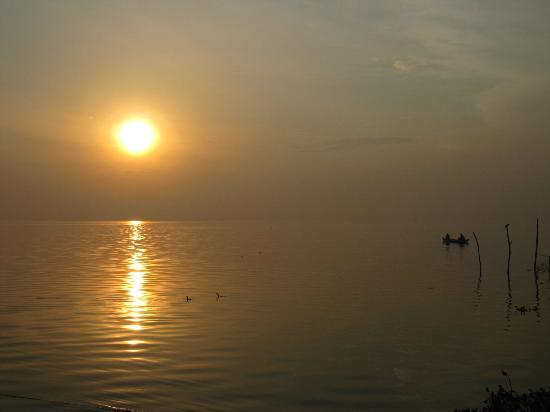 The Park on Vembanad Lake: Kerala sunrise