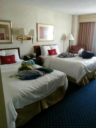Crowne Plaza Hotel Virginia Beach -Town Center: Our Room