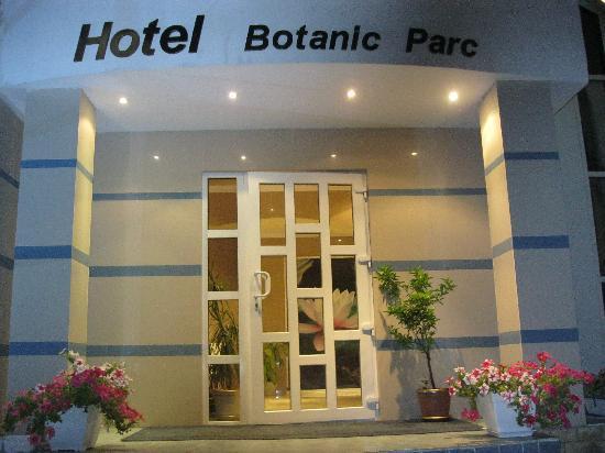 Hotel Botanic Parc: entrance