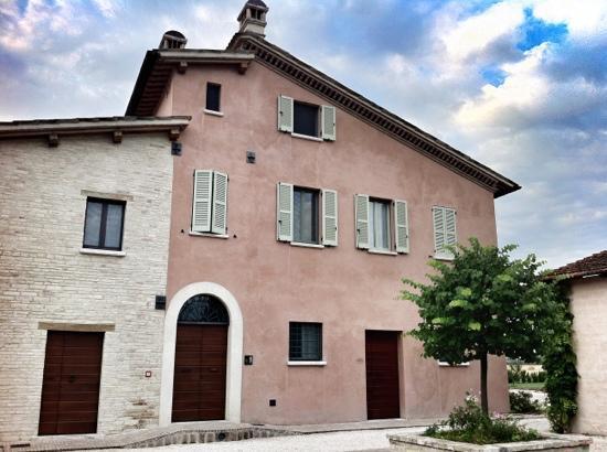 Country House Casco Dell'acqua: the house