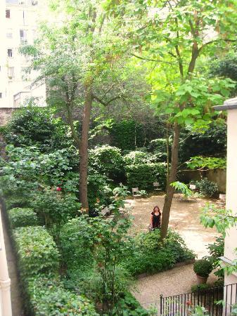 Musée National Eugène Delacroix: in the garden