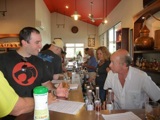 Finger Lakes Distilling Company: Great stop on Seneca Lake Wine Trail