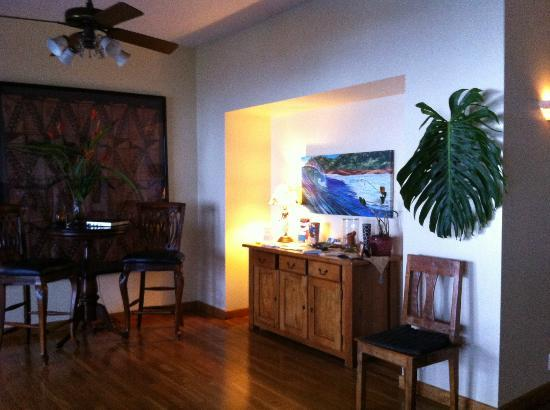 Ka'awa Loa Plantation: The cosy living room
