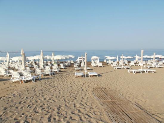 Side Sedef Hotel: beach