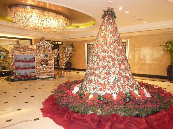 Shangri-La's Eros Hotel: decorazioni di natale 2011
