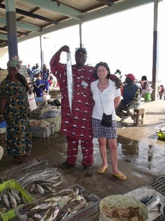 Le Saly Hotel: mercato del pesce