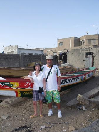 Le Saly Hotel: Saly il porto