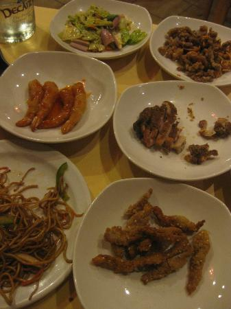 Shanghai Cooking : some of our mains