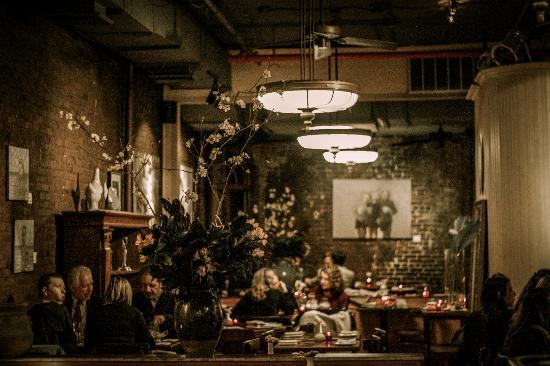 A photo taken of the Dinning Room by Ben Mobley - Cupping Room ...