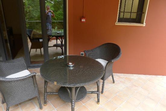 Hotel Cantemerle Spa & Restaurant : terrasse