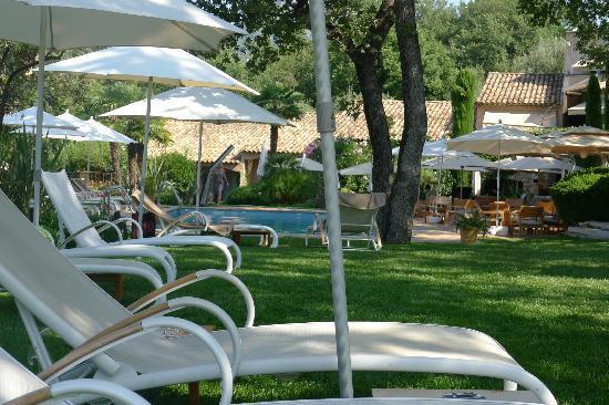 Hotel Cantemerle Spa & Restaurant : Le jardin