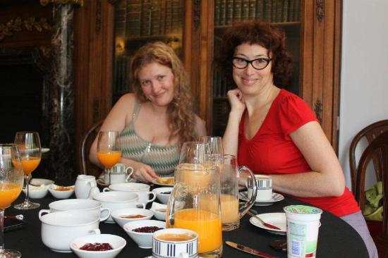 Hotel Club Frances : Desayuno