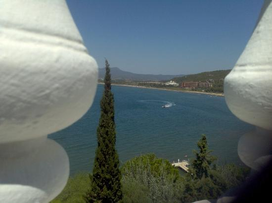 Labranda Ephesus Princess: view from thr pool area over looking the beach and the bay