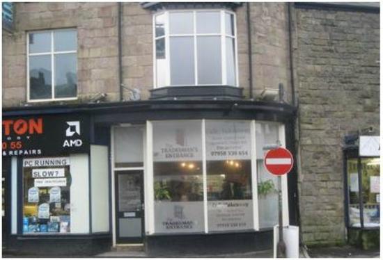 The Tradesman's Entrance Cafe: Ignore the 'No Entry' sign - Do enter