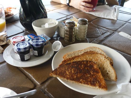 Grand Isle Resort & Spa : Breakfast items at Pallapa's