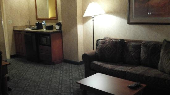 Embassy Suites by Hilton Dallas DFW Airport North: Front Room