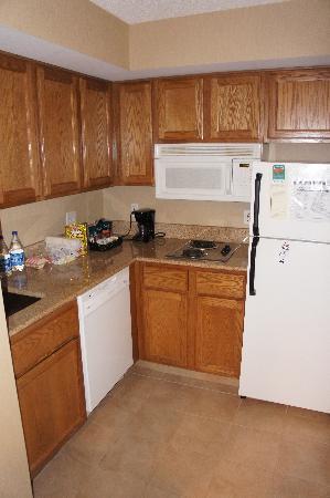 Homewood Suites Alexandria: cuisine équipée