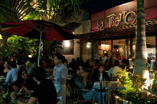 La Tratto: A sidewalk Trattoria Bar and restaurant with a sophisticated ambiance