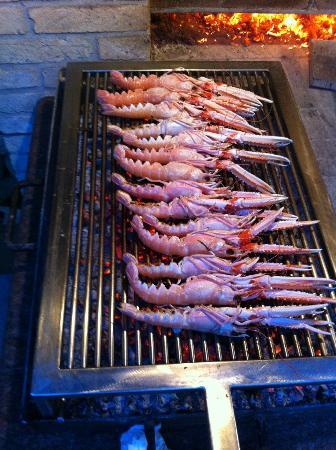 Ai Tre Amici: ... and seafood