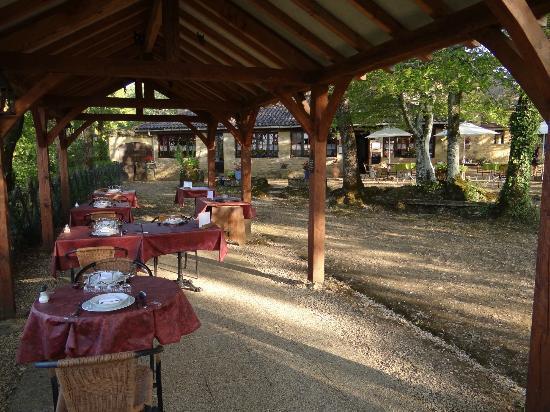 Auberge de Castel Merle : Jardin