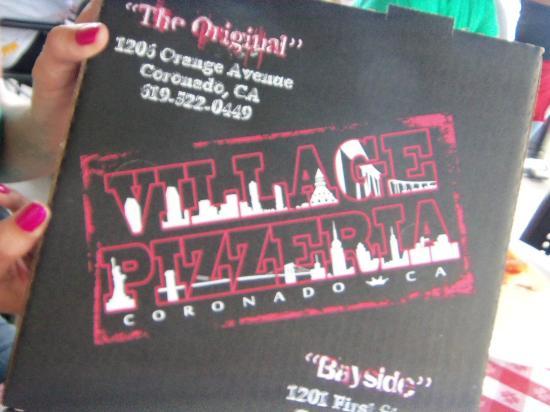 Village Pizzeria: Pizza