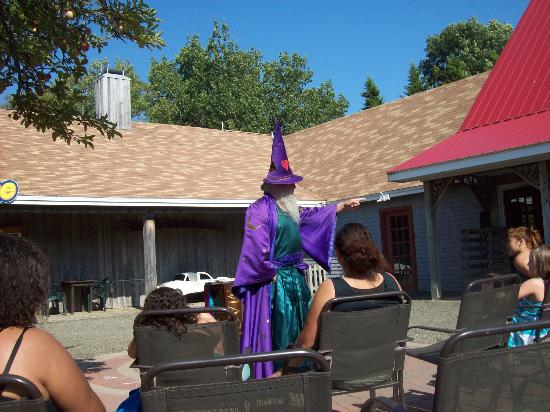 Upper Clements Parks: Magic Show in the Sqaure