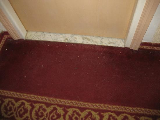 Hotel Abou Sofiane : Carpets not vacuumed