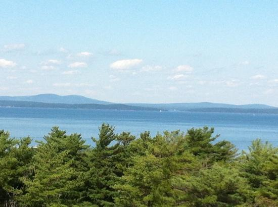 Bluenose Inn - A Bar Harbor Hotel: view from room