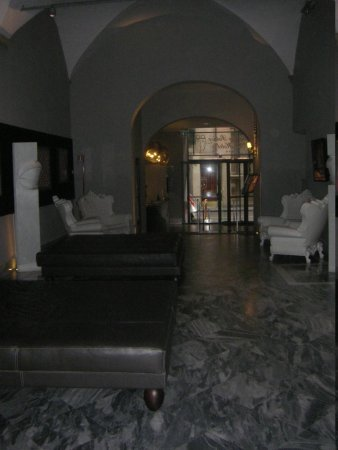 Borghese Palace Art Hotel: reception