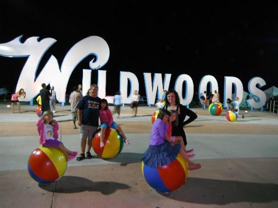 Wildwood Boardwalk : Près du centre de convention