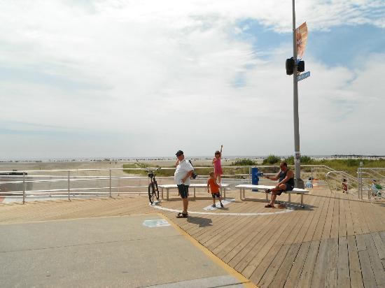 Wildwood Boardwalk : Début du boardwalk